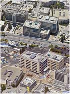 Kaiser Redwood City -two views